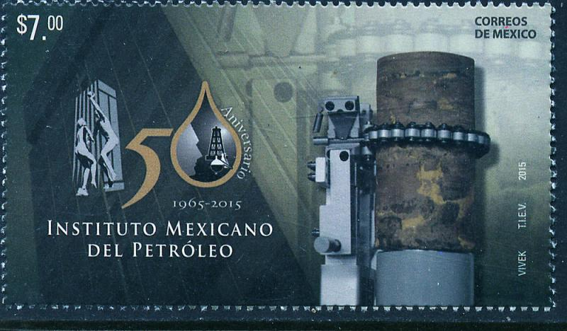 MEXICO 2944, Petroleum Institute, 50th Anniversary. MNH
