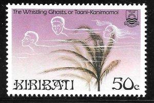 Kiribati 451: 50c Whistling Ghosts, MH, VF