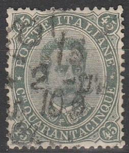 Italy #54   F-VF Used CV $8.50  (S6195)