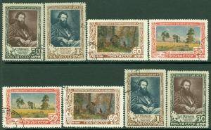 EDW1949SELL : RUSSIA 1948 Scott #1230-33. 2 Very Fine, Used sets. Catalog $80.00