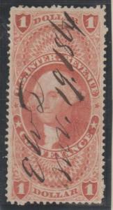 U.S. Scott #R66c Revenue Stamp - Used Single