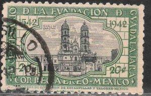 MEXICO C120, 20¢ 400th ANNIV. OF GUADALAJARA. USED. VF. (1263)
