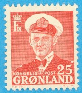 GREENLAND 32 MINT HINGED OG * NO FAULTS EXTRA FINE !