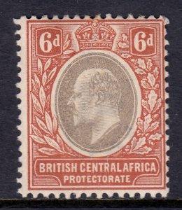 British Central Africa - Scott #63 - MH - SCV $4.00