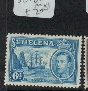St Helena SG 136 MOG (2edh)