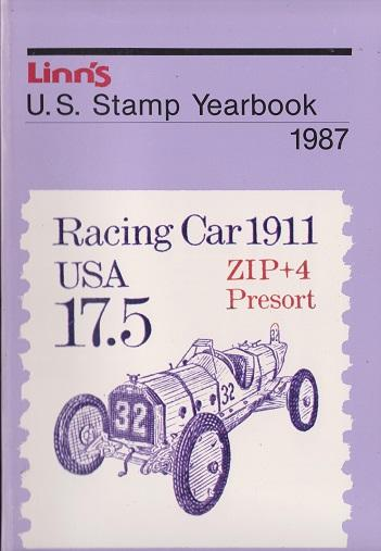 Linn's U.S. Stamp Yearbook for 1987