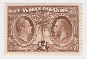 British Colony Cayman Islands 1932 1/4d MH* Stamp A22P19F8934