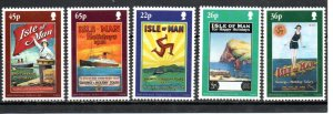 Isle of Man 878-882 MNH