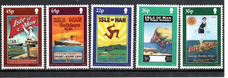 Isle of Man 878-882 MNH