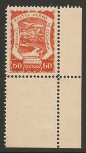 COLOMBIA C31 MNH  AIRPLANE R7-135