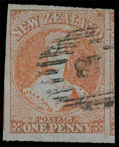 New Zealand Scott 4 Gibbons 4 Used Stamp