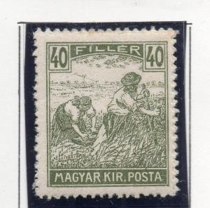 Hungary 1916-18 Early Issue Fine Mint Hinged 40f. 271058