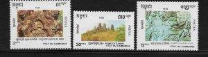 Cambodia 1046-48 Culture Mint NH