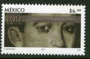 MEXICO 2319, Xavier Villaurrutia, Poet Cent of his Birth. MINT, NH. VF.