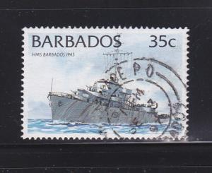 Barbados 876d U Ships (A)