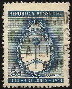 Argentina 1944 Scott# 518 Used