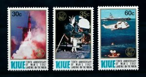 [102266] Niue 1979 Space travel weltraum Apollo 11 helicopter  MNH