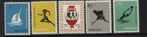 Netherlands Scott B296-300 MNH! Sports!