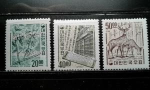 Korea #582-4 MNH e194.4190