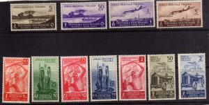 COLONIE ITALIANE AFRICA ORIENTALE ITALIANA AOI 1940 MOSTRA TRIENNALE D'OLTREM...