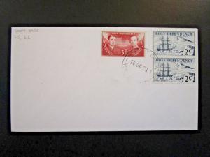 Ross Dependency 1969 Scott Base Cover w/ 2c Pair - Z6128