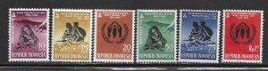 Indonesia 488-494  Mint  Complete