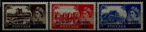 Kuwait 117-19 MH/MNH SCV30