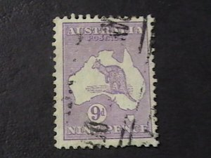 AUSTRALIA # 41-USED---VIOLET ---1915