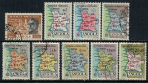 Angola #385-93  CV $2.80