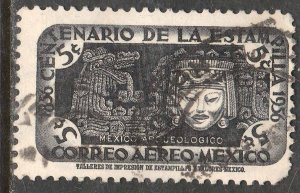 MEXICO C229, 5¢ Centenary of 1st postage stamps. Used. VF. (1089)