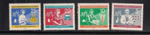 GERMANY - DDR SC# 525-8 F-VF MNH 1960