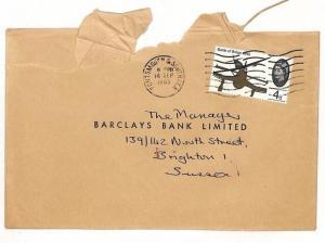 AI74 GB 1965 TRANSORMA Machine Sorting Trial Mark Brighton Commercial Mail