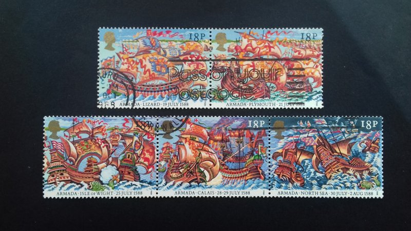 Great Britain 1988 The 400th Anniversary of the Spanish Armada Used