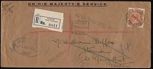 AUSTRALIA 1931 OHMS Reg  : Perth local use - unclaimed etc................18248W