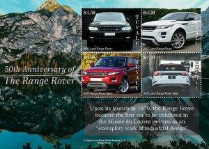 2020/12- TUVALU - RANGE ROVER   4V  complet set    MNH ** T
