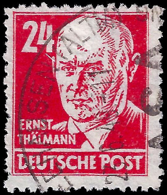 Germany-Soviet Zone 1948 Sc 10N37 used