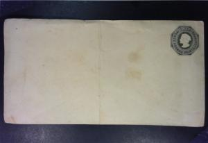 Chile Early 20c Postal Stationary Mint / Folded Light Toning Edge Tears - Z1427