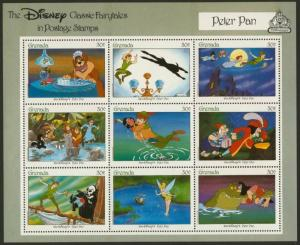 Grenada 1545 MNH Disney, Peter Pan, Dog