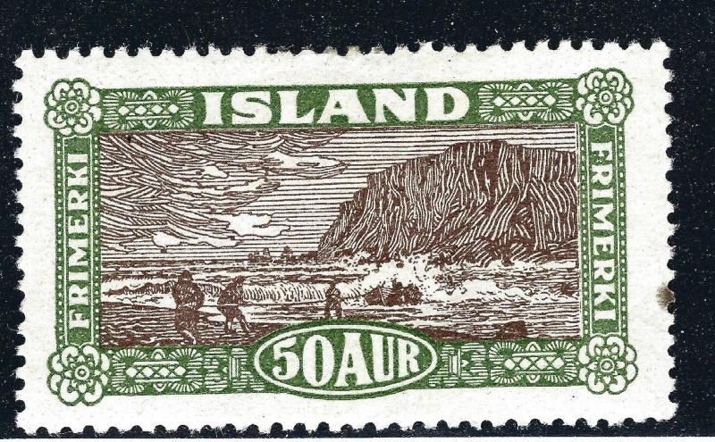 Elusive Mint Iceland #148 VF SC$75 very nice!...Make me an OFFER!