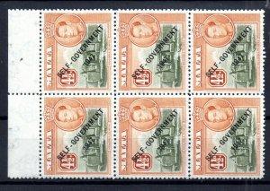 Malta KGVI 1948 MNH block 4 1/2d Self Government WS14971