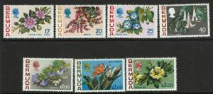 Bermuda SC# 322-328, Mint Hinged, 327 Hinge Remnant - S5175