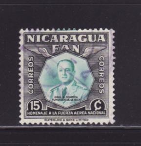 Nicaragua 760 U Captain Dean L Ray
