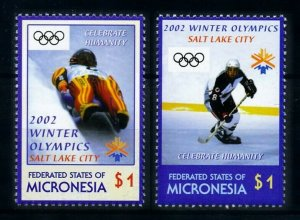 [101511] Micronesia 2002 Olympic winter games Salt Lake City ice hockey  MNH