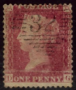 Great Britain SC#14 Used Fine hr WMK 20 CV$110.00...Real Deal!!
