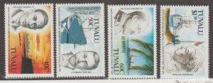 Tuvalu Scott #590-593 Stamps - Mint NH Set