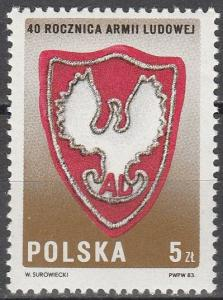 Poland #2602 MNH (K941)