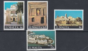 MALTA  1980  MONUMENT RESTORATION SET  MNH