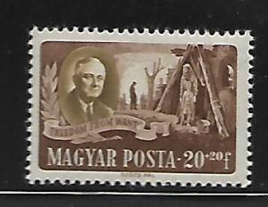 HUNGARY  B198c   MNH ROOSVELT ISSUE