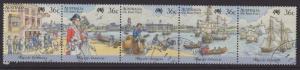 AUSTRALIA SG1059a 1987 BICENTENARY OF AUSTRALIAN SETTLEMENT FINE USED