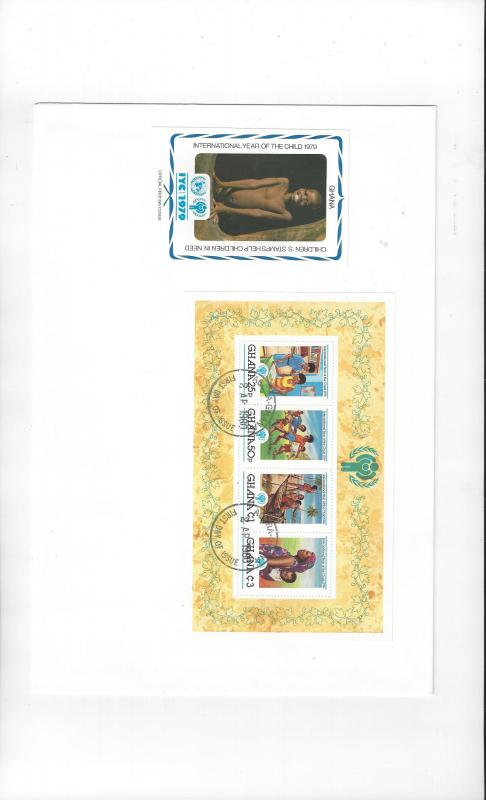 Ghana FDC 1979 International Year of the Child Official Cachet